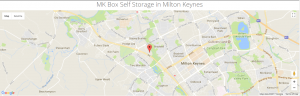 MK Box Self Storage Milton Keynes Directions